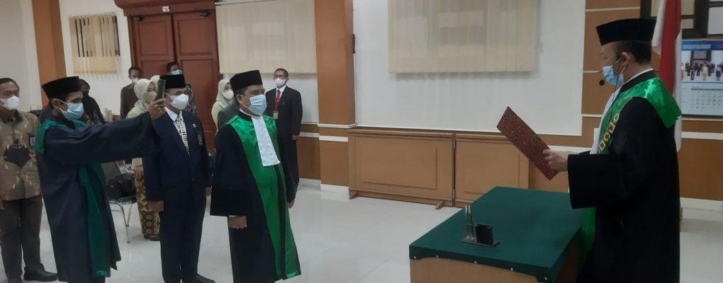 Masalan Bainon, S.Ag., M.H dilantik sebagai Wakil Ketua PA Cirebon