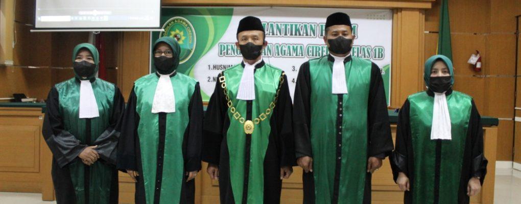 Pelantikan Hakim Pengadilan Agama Cirebon
