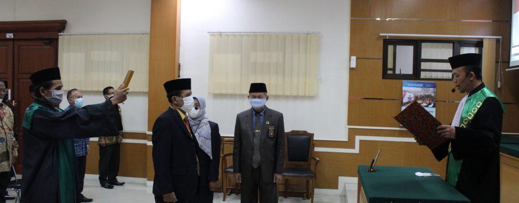 Pelantikan, Pengambilan Sumpah dan Serah Terima Jabatan Panitera PA Cirebon
