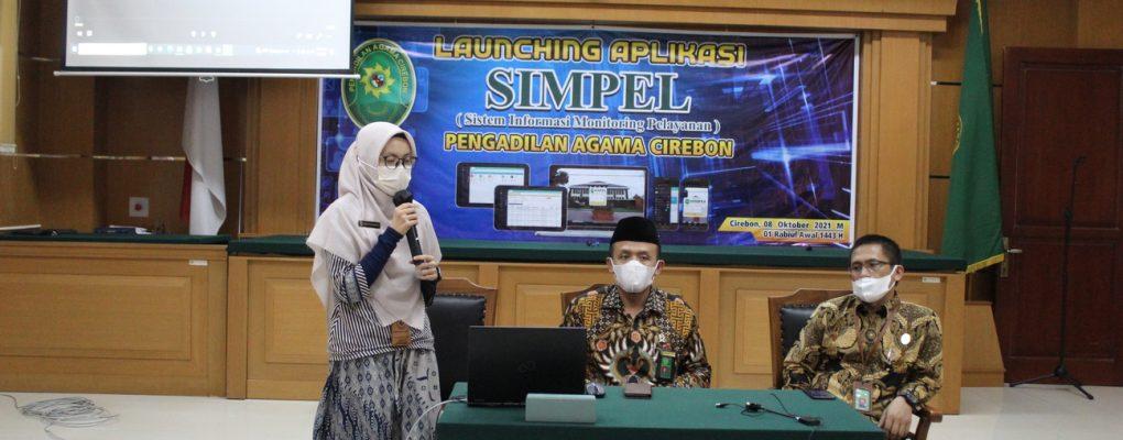 Launching Aplikasi SIMPEL-PACN