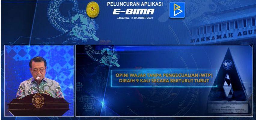 Launching Aplikasi E-BIMA MA-RI